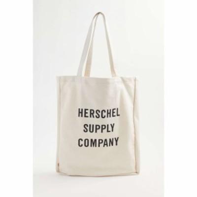 ハーシェル サプライ Herschel Supply Co. レディース トートバッグ バッグ long tote bag Neutral