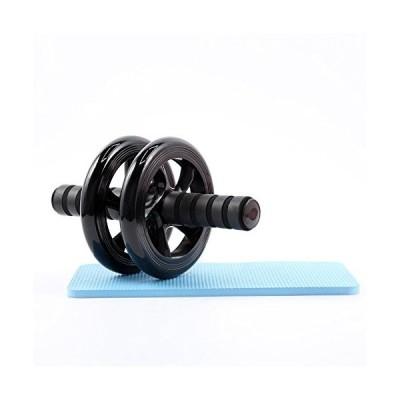 腹筋ローラー スリムトレーナー アブホイール エクササイズローラー フィットネスローラー 腹筋トレーニング 膝当てマット付き 静音