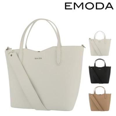 【レビューを書いてポイント+5%】エモダ トートバッグ 肩掛け 2WAY B5 花柄 レディース EM-9297 | EMODA シンプル カジュアル かわいい