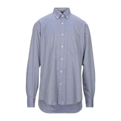 ポール・アンド・シャーク PAUL & SHARK シャツ ブルー 41 コットン 100% シャツ