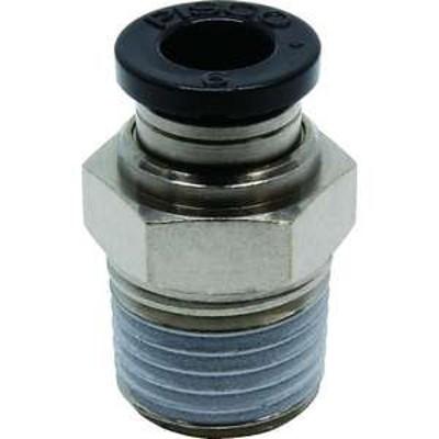 ピスコ チューブフィッティング ストレート 適合外径6mm 接続口径R1/4 (品番:PC6-02)『2909588』