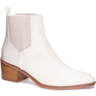 チャイニーズランドリー CHINESE LAUNDRY レディース ブーツ シューズ・靴 Filip Chelsea Bootie Ecru Leather