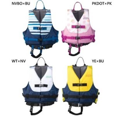 【送料無料】 アクア aqa ジュニア キッズ ライフジャケット マリンスポーツ KA-9021