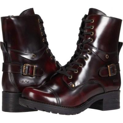 タオス Taos Footwear レディース ブーツ シューズ・靴 Crave Dark Cherry