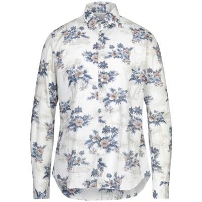 CELLINI シャツ ライトグレー 39 コットン 100% シャツ