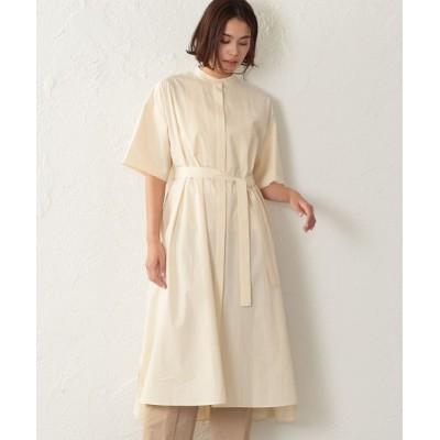 SANYO SELECT / 【オーガニックコットン】シャツドレス WOMEN ワンピース > シャツワンピース