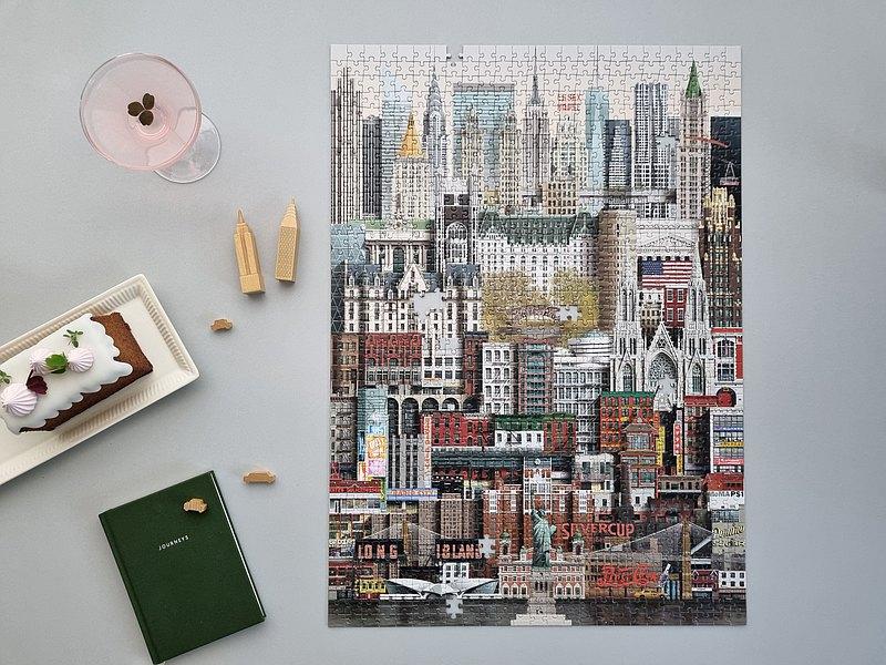 Martin Schwartz 1000片拼圖 紐約 NEW YORK