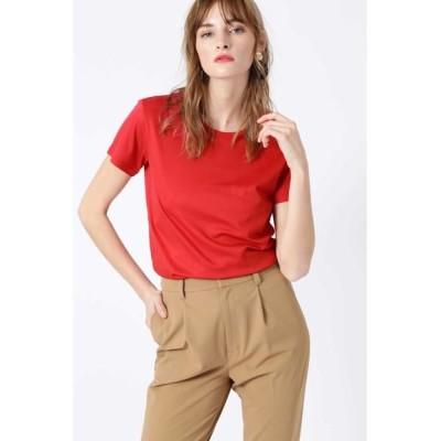 PINKY & DIANNE/ピンキーアンドダイアン  0ggi5月号掲載 ネオンカラーバックロゴTシャツ レッド 38