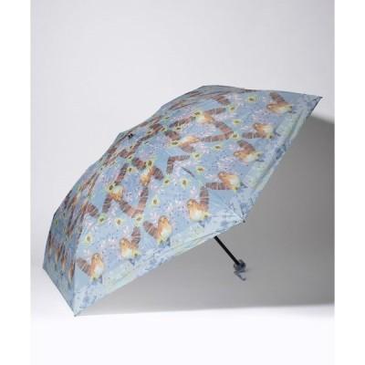 【フルラ】FURLA(フルラ)折りたたみ傘 【小鳥】