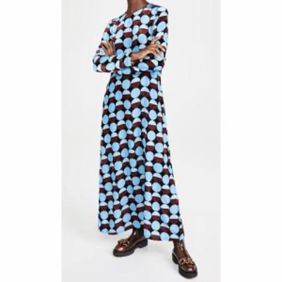 ラダブルジェー La Double J レディース ワンピース ワンピース・ドレス Long Sleeve Swing Dress Sfere Azzurro