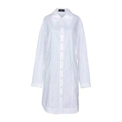 ジョゼフ JOSEPH ミニワンピース&ドレス ホワイト 42 コットン 100% ミニワンピース&ドレス