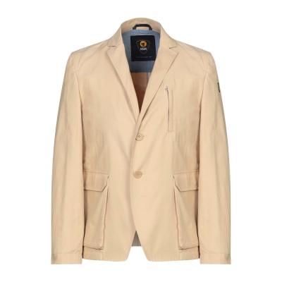 CIESSE PIUMINI テーラードジャケット ベージュ 50 コットン 65% / ナイロン 35% テーラードジャケット