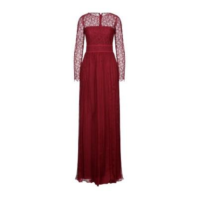 COPURS by DERYA COPUR ロングワンピース&ドレス レッド 36 シルク 100% ロングワンピース&ドレス