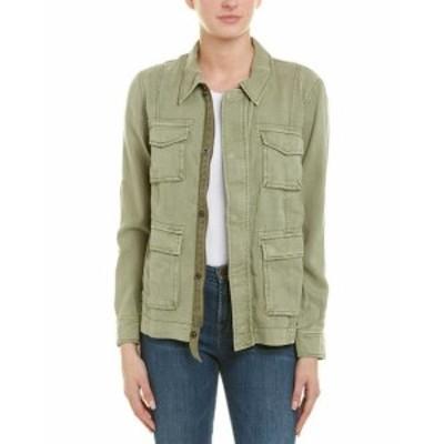 Pam & Gela パム & ゲラ ファッション 衣類 Pam & Gela Lace-Up Field Jacket P Green