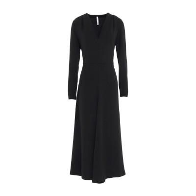 インペリアル IMPERIAL 7分丈ワンピース・ドレス ブラック XS ポリエステル 100% 7分丈ワンピース・ドレス
