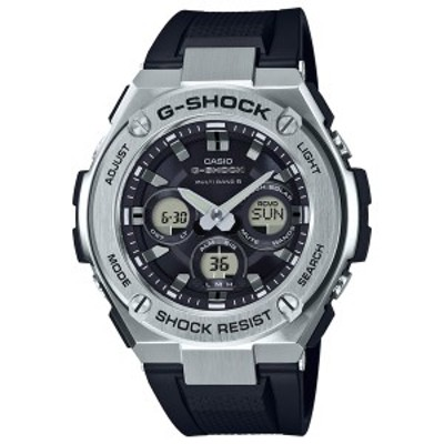 カシオ 【国内正規品】G-SHOCK(ジーショック) G-STEELGショック ソーラー電波時計 メンズタイプ GST-W310-1AJF[GSTW3101AJF] 返品種別A