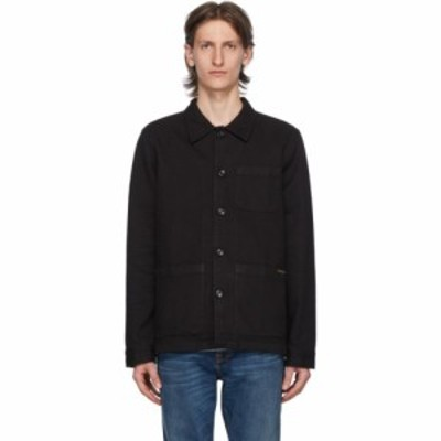 ヌーディージーンズ Nudie Jeans メンズ ジャケット アウター black barney jacket Black