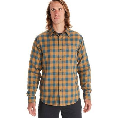 (取寄)マーモット ボデガ ライトウェイト ロングスリーブ フランネル - メンズ Marmot Bodega Lightweight Long-Sleeve Flannel - Men's Bronze