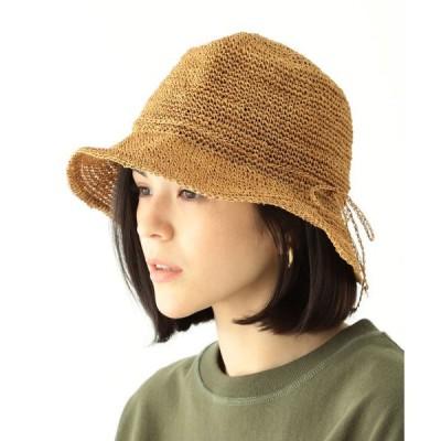 帽子 ハット BEAMS BOY / アバカ クロシェ ハット