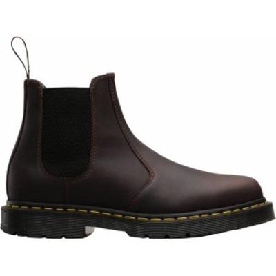 ドクターマーチン メンズ ブーツ・レインブーツ シューズ Dr. Martens Men's 2976 WinterGrip Winter Boots Cocoa Snowplow
