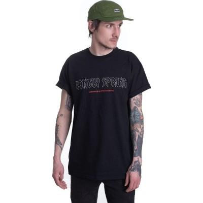 インペリコン Impericon メンズ Tシャツ トップス - Lovers And Strangers Tracklist - T-Shirt black