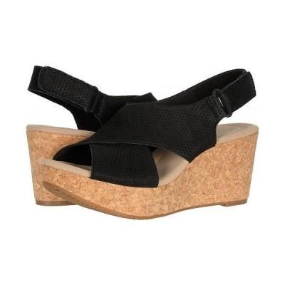 Clarks クラークス レディース 女性用 シューズ 靴 ヒール Annadel Parker - Black Suede