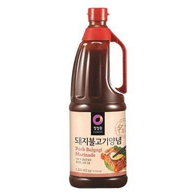 『清浄園』豚プルコギタレ辛口(2kg・業務用)[BBQ][豚肉][プルコギソース][たれ][韓国調味料][韓国食材]