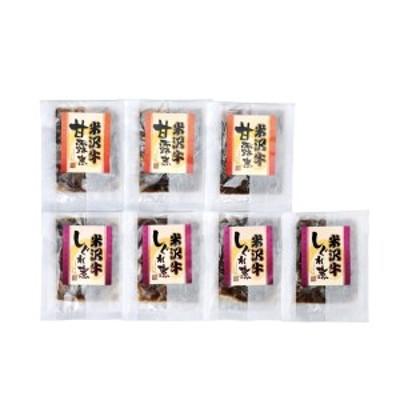 米沢牛甘露煮・しぐれ煮セット F2Y-0277