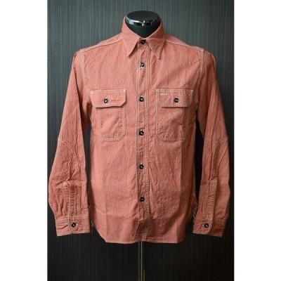シュガーケーン ワークシャツ Sugar Cane SC25511 ジーンコード レッド