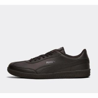 プーマ Puma メンズ スニーカー シューズ・靴 astro cup leather trainer Black/Black