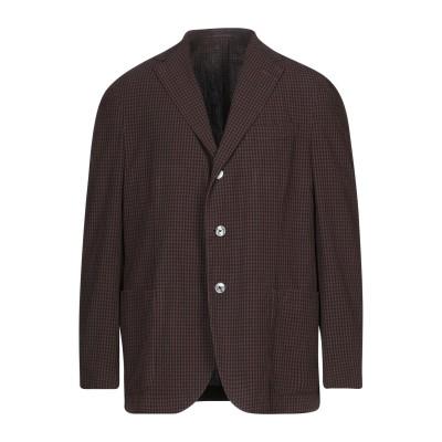 ザ ジジ THE GIGI テーラードジャケット ダークブラウン 54 コットン 100% テーラードジャケット