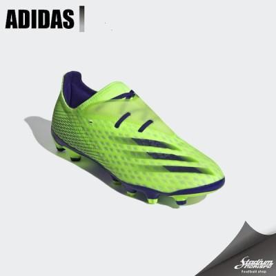 ADIDAS アディダス エックス ゴースト.2 HG/AG FW9570 シグナルグリーン/エナジーインク/セミソーラースライム サッカー スパイク