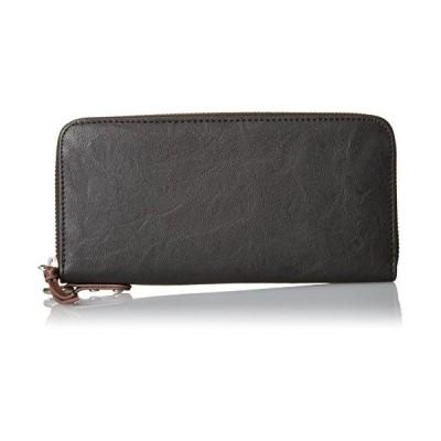 [デバイス] 財布 gland ラウンド ブラック
