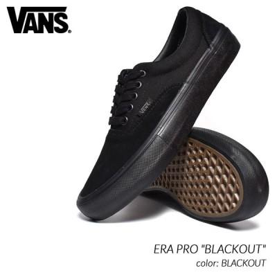 "VANS ERA PRO ""BLACKOUT"" バンズ エラ プロ スニーカー ( 黒 ブラック メンズ レディース ウィメンズ VN000VFB1OJ )"