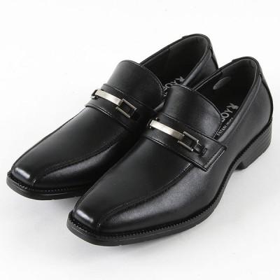 PLAYBOY プレイボーイ 683 屈曲軽量撥水 ビジネス メンズ ブラック 24.527cm 靴 シューズ 軽量