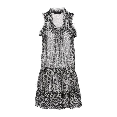 MANGANO ミニワンピース&ドレス ライトグレー S/M ポリエステル 100% ミニワンピース&ドレス