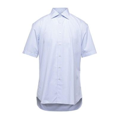 FEDELI シャツ アジュールブルー 41 コットン 100% シャツ