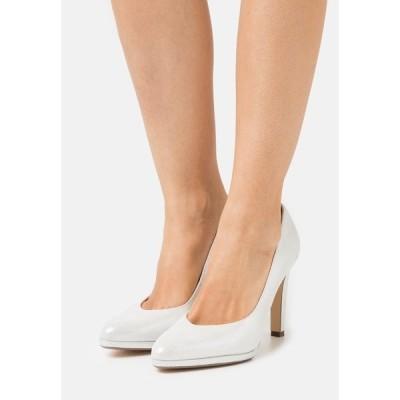 ピーター カイザー ヒール レディース シューズ HERDI - Classic heels - wei/luz