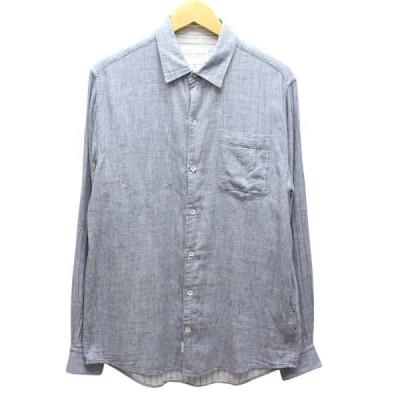 【10月22日値下】Loomstate 金属ボタン ガーゼシャツ グレー他 サイズ:M (高槻店)