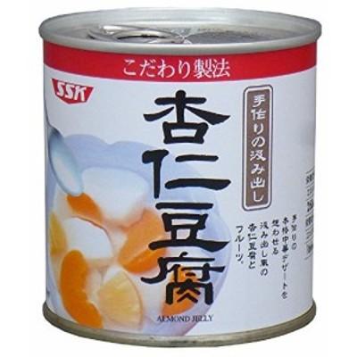 【新品】SSK こだわり製法 杏仁豆腐 5号缶