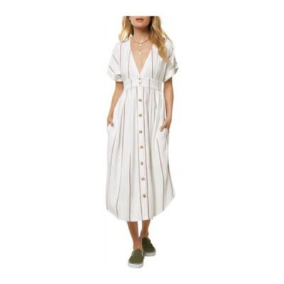 オニール ワンピース トップス レディース Reid Dress (Women's) Bright White