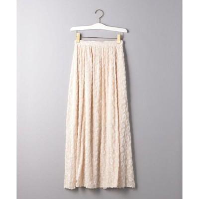 スカート <AEWEN MATOPH(イウエン マトフ)>レオパード ジャカード ロングスカート