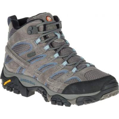 メレル Merrell レディース ハイキング・登山 ブーツ シューズ・靴 Moab 2 Mid Waterproof Hiking Boot Granite