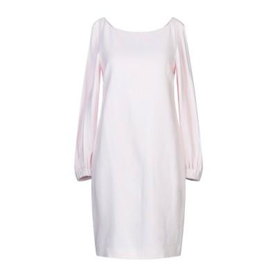 レ コパン LES COPAINS ミニワンピース&ドレス ライトピンク 40 レーヨン 97% / ポリウレタン 3% ミニワンピース&ドレス