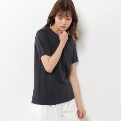 プレミアムコットン半袖Tシャツ(無地・ボーダー) ネイビー M L LL