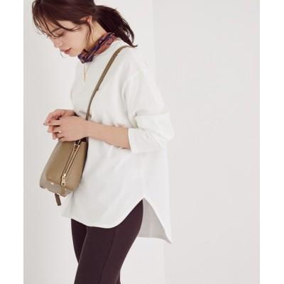 ROPE' / 【21SS新色】コットンロングスリーブTシャツ WOMEN トップス > Tシャツ/カットソー