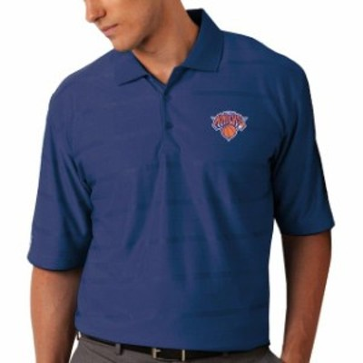 Antigua アンティグア スポーツ用品  Antigua New York Knicks Royal Blue Tone Desert Dry Polo