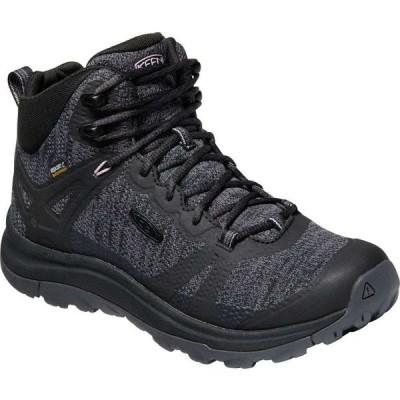 キーン KEEN レディース ハイキング・登山 ブーツ シューズ・靴 Terradora II Mid WP Hiking Boot Black/Magnet