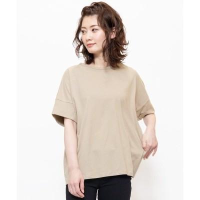 tシャツ Tシャツ シルケット加工バックタックTシャツ