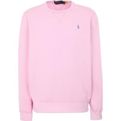 ラルフ ローレン POLO RALPH LAUREN メンズ スウェット・トレーナー トップス fleece crewneck sweatshirt Pink